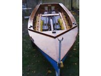 Enterprise sailing dinghy - all gear and good condition