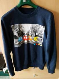 New Look Pacman Jumper Size Small