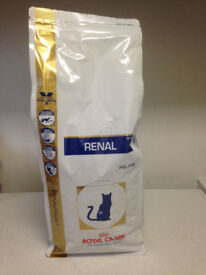 Royal Canin Renal (Feline) RF23, RF26 & RSE24 - Dry Cat Food 2kg bags. (Price is per bag)
