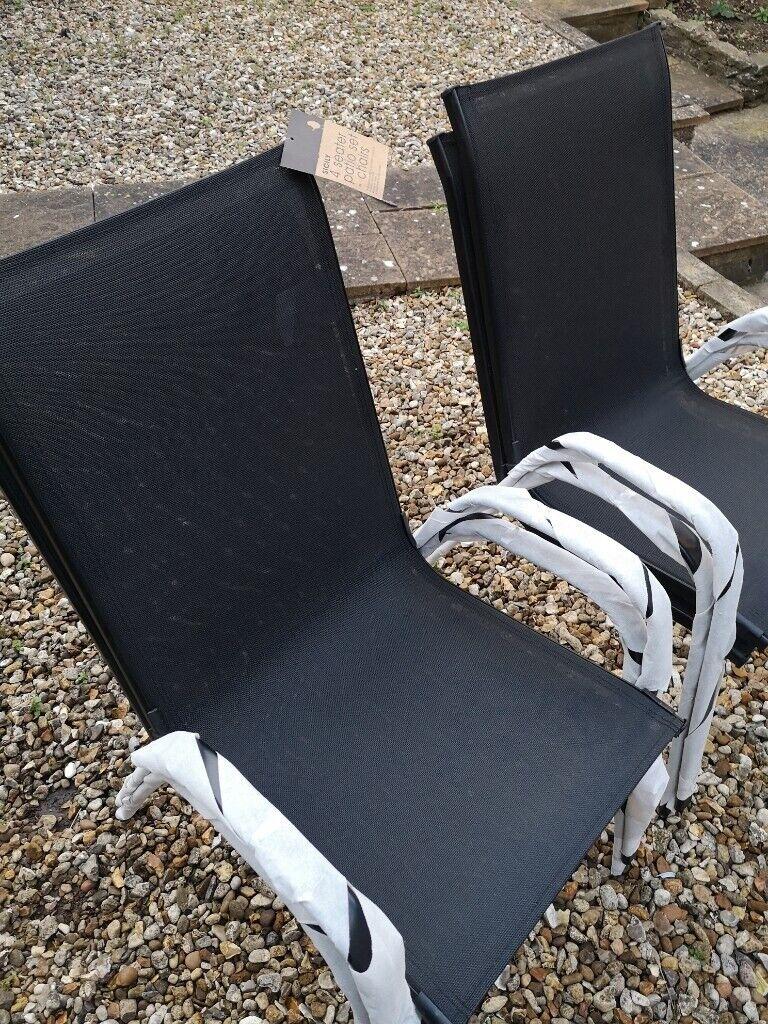 4 Brand New Argos Garden Chairs
