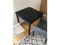 Free tables, 2 chairs, shoe rack