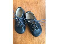 Neck and Neck navy leather children shoes, size 20