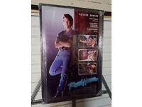 Patrick swayze -roadhouse -movie/film poster framed