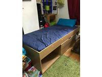 single kids/children bed (with mattress)