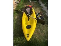 Blue Fin Fishing Kayak Plus Extras
