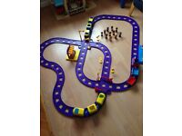 ELC Happy land train and road track, lots of extras.