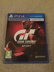 Ps4 game GT sport ... swap for F1 2017?