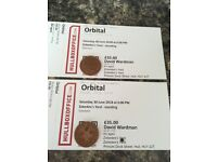 Orbital plus special guests Faithless at Zebedee's Yard Saturday 30th June