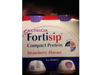 Fortisip compact protein drinks