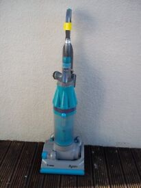 DYSON DC07 ALL FLOORS UPRIGHT BAGLESS VACUUM WITH NEW FILTERS AQUA/GREY