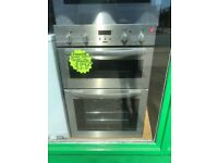 ZANUSSI BUILT IN DOUBLE OVEN IN STAINLESS STEEL