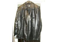 Reportage R.G.A. Italian Men's leather jacket