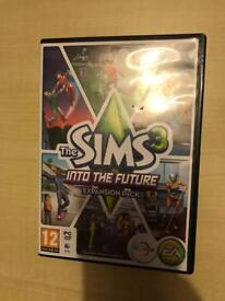 SIMS 3 - Into The Future Expansion pack (PC/DVD/MAC)