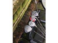 Golf Job Lot, Vintage, Regal, Mitshushiba,hippo, Nucleus, Regency + Hippo Bag