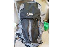 Virtually Brand New Vango 80L rucksack. Ideal for Duke Of Edinburgh Award trips and general camping