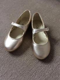 M&S girls party shoes