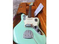 Fender Custom Shop NOS '62 Jaguar Surf Green Matching Headstock £2100