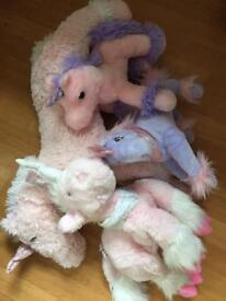 Unicorn teddy's