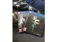 Dishonored 2 and death of the outsider (PS4)