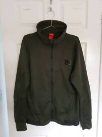 Nike Air Max Large track top/jacket, dark green/khaki
