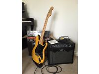 Westfield Electric Guitar + Peavey Vyper Amp