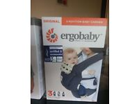 Baby carrier never been opened