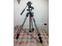 Manfrotto 190CL Tripod with Manfrotto 141 RC 3 way head