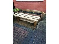 Brand new TIMBER BENCHES - 1200mm - delivered