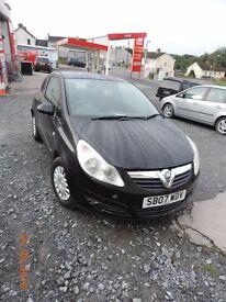 2007 Vauxhall Corsa 1.3tdi 30£ TAX, cheep insurance!