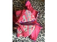 Girls toddler life jacket
