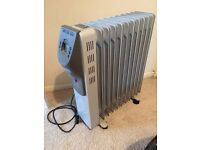 Airforce 2500W 2.5kW Electric Oil filled radiator