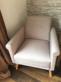 2 week old 2 seater sofa and chair