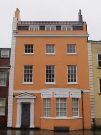 Spacious, 350 sq ft office space in beautifully refurbished Grade II listed building in Old Market