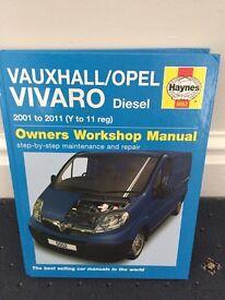 Vivaro workshop manual