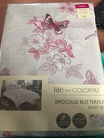X2 Brand new double duvet covers rrp £40 each