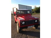 Land Rover defender 110 Galvanised chassis and bulkhead. Puma upgrades