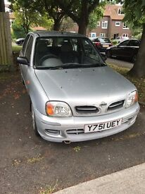 Nissan Micra 1litre very low millage!