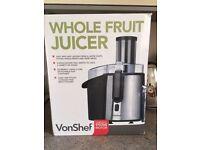 Von Chef Professional Whole Fruit Juicer