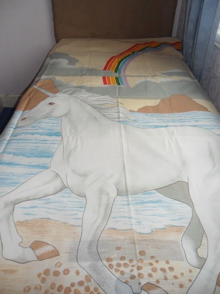 New Unicorn Single Bed Flatsheet In Heath Cardiff Gumtree