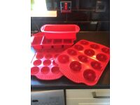 Baking silicone sets