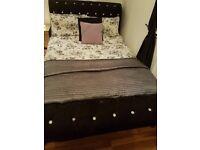Double dimante bed
