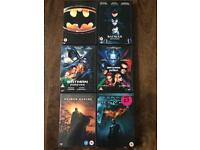 Batman Collection DVD's.