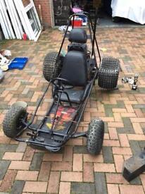 Rough Terrain Go Kart