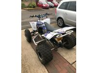 FULLY ROAD LEGAL YFZ450 Yamaha raptor quadbike !