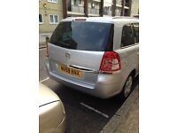 7 SEAT , V ZAFIRA 11,000 MILLAGE, ONE OWNER, SILVER £5450 NICE IN& OUT