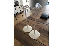 Set of 10 butterfly table holders for wedding/party