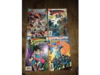 Various DC superman comics, in good condition