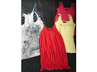 Ladies size 10 clothes tops jumpers bundle