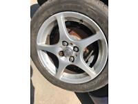 TOYOTA MR2 ROADSTER VVTI 2000 Alloys Wheels Rims 205/50 R15 205 50 R15
