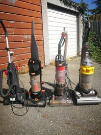 Joblot of four Hoover / vacuum cleaner for sale
